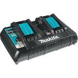 Carregador Duplo de Baterias Makita 18V 127V Mod. DC18RD