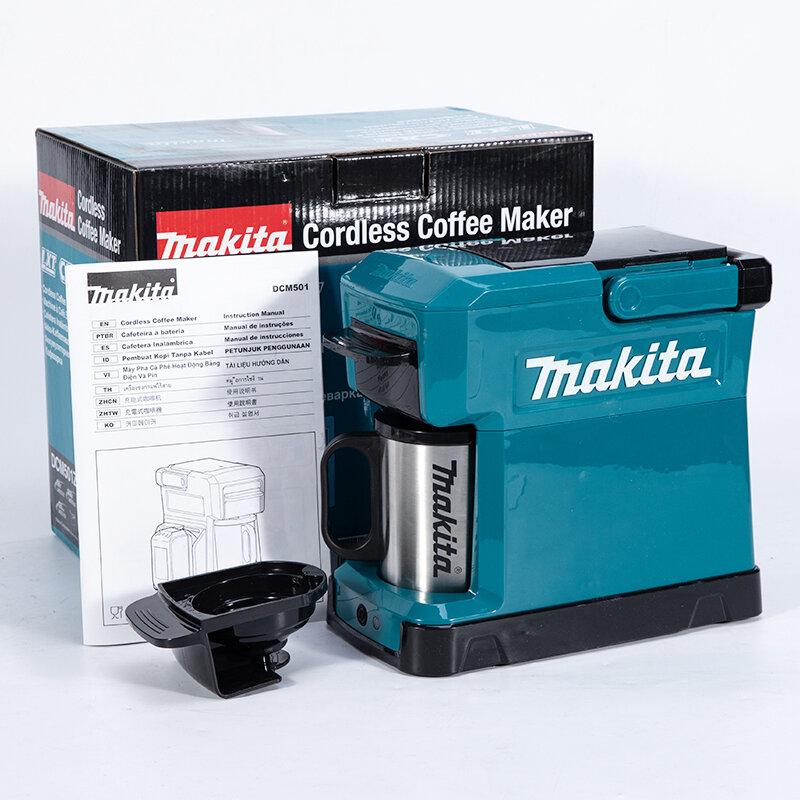 CAFETEIRA PORTATIL A BATERIA MAKITA DCM501Z LXT/CXT