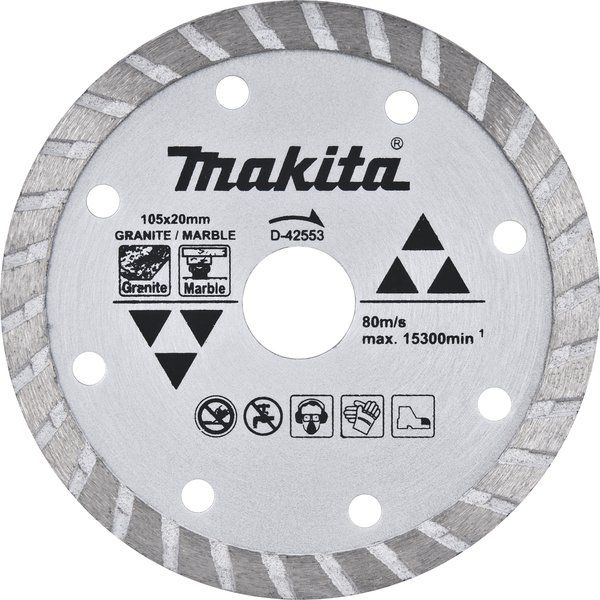 Disco Diamantado Makita para Mármore e Granito 105mm - D42553