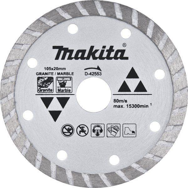 Disco Diamantado Makita para Mármore e Granito 105mm - D42553