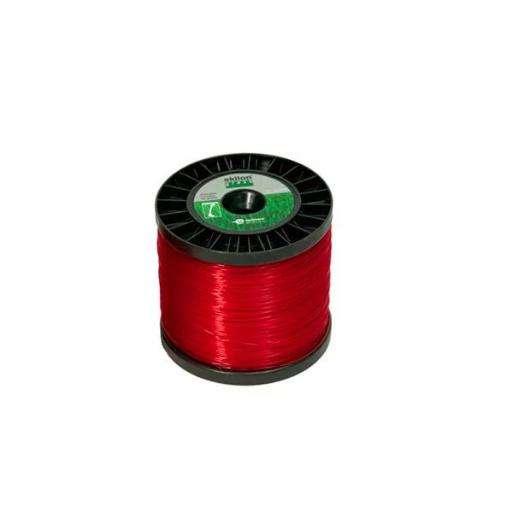 Fio de Nylon para Roçadeira 2,4mm x 194m Redondo