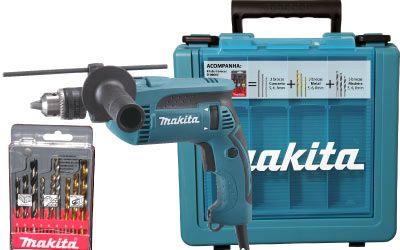 Furadeira de Impacto 16mm Makita HP1640KX1 760 Watts - 220V