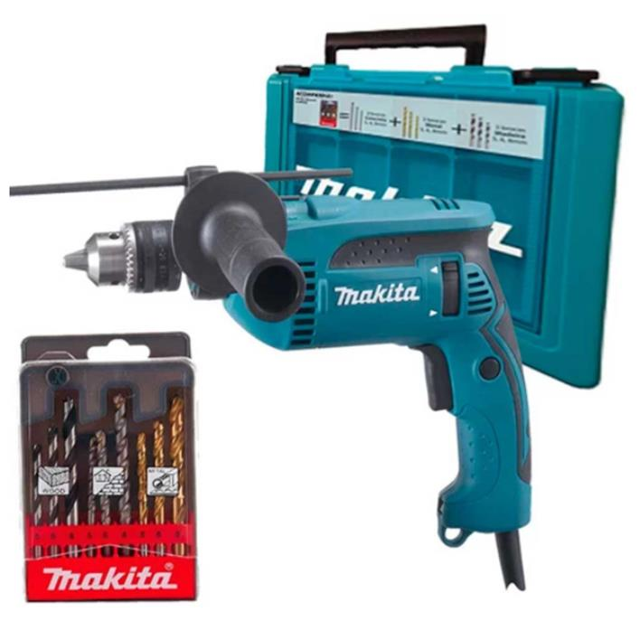 FURADEIRA DE IMPACTO HP1640KX1 220V COM MALETA - 760W 5/8, M/ MAKITA