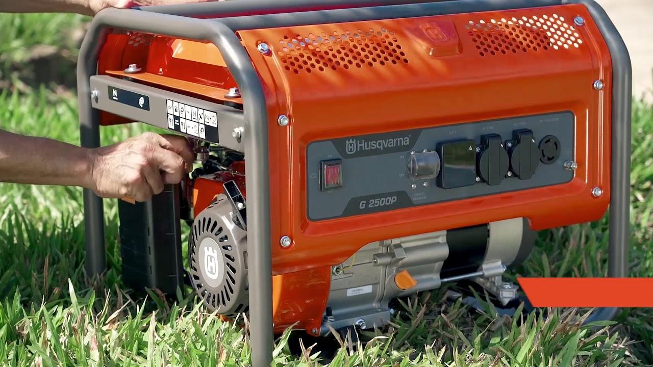 GERADOR DE ENERGIA HUSQVARNA G2500P - 2500W