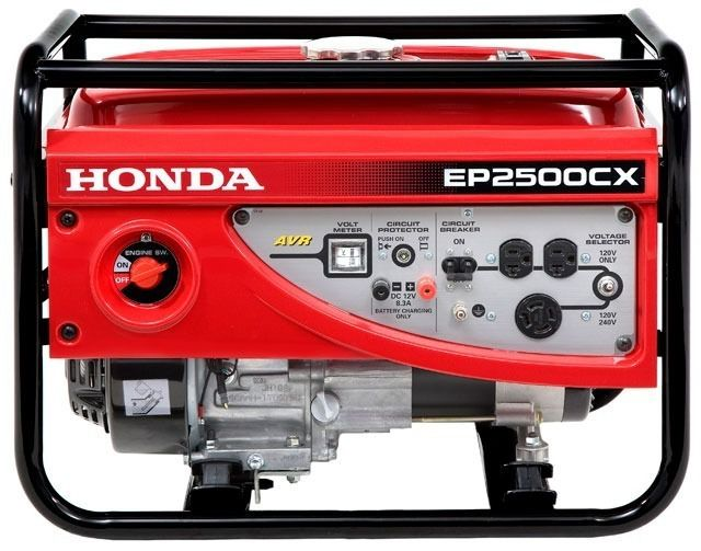 Gerador De Energia A Gasolina Honda Ep2500CX LBH 2,5kva - Bivolt