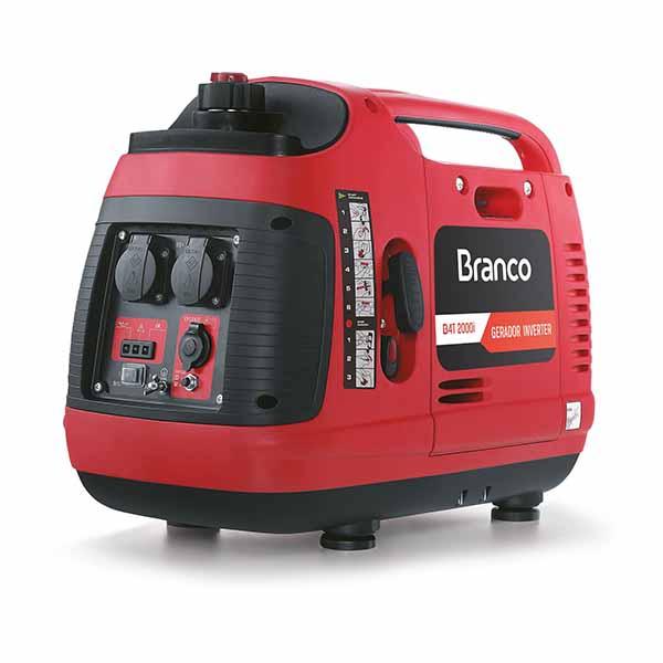 GERADOR 2000W INVERTER 110V, M/ BRANCO