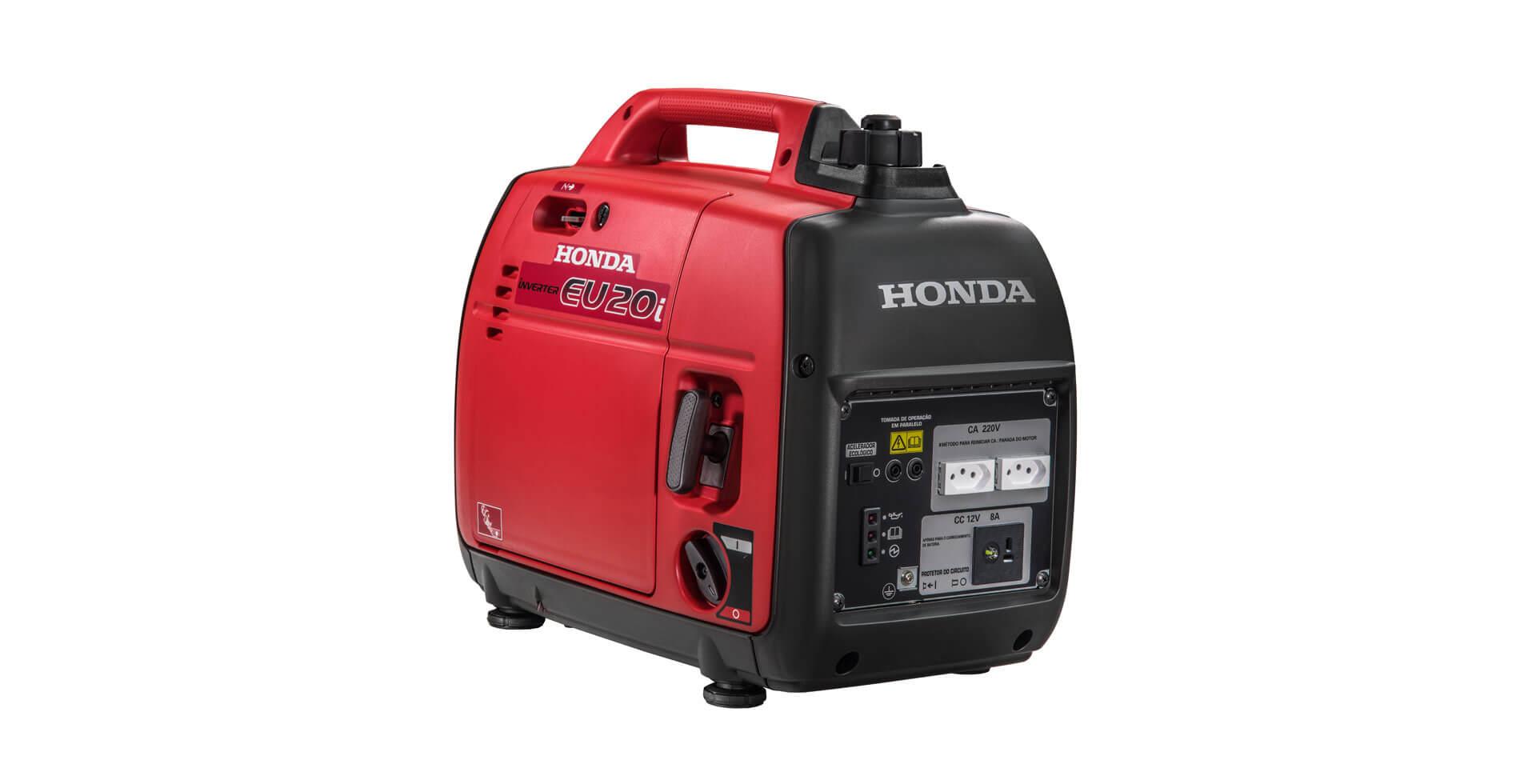 Gerador Inverter Honda EU20I 127V 2kva Portátil Silencioso