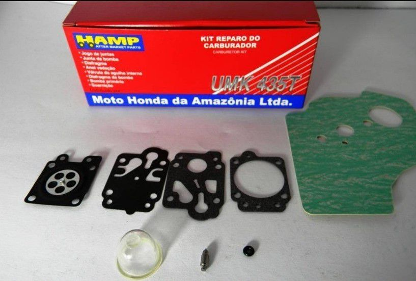 Kit Reparo do Carburador Roçadeira Honda UMK435T UMR435T - H1600Z0Z805