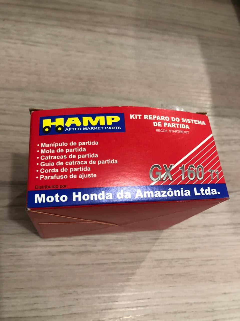 KIT REPARO SISTEMA DE PARTIDA MOTOR HONDA GX120T1/GX160T1/GX200T - H2840ZH8013YA