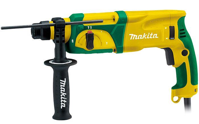 Martelete Combinado 24mm 800W - MAKITA HR2470BR 220v