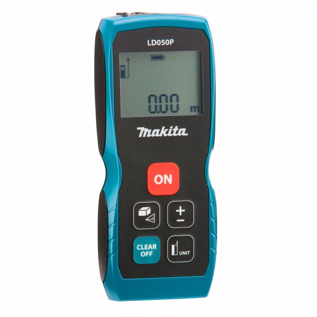 Medidor de Distância Trena à Laser com Leitura até 50 metros - LD050P - Makita