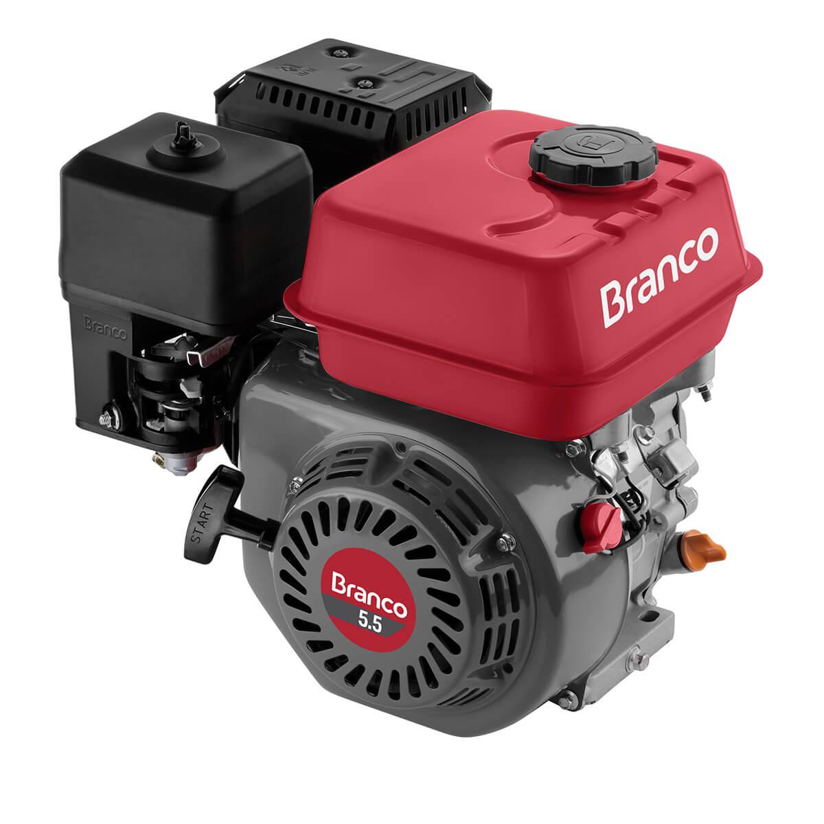 MOTOR BRANCO 5,5HP B4T COM ALERTA DE OLEO - 90500262