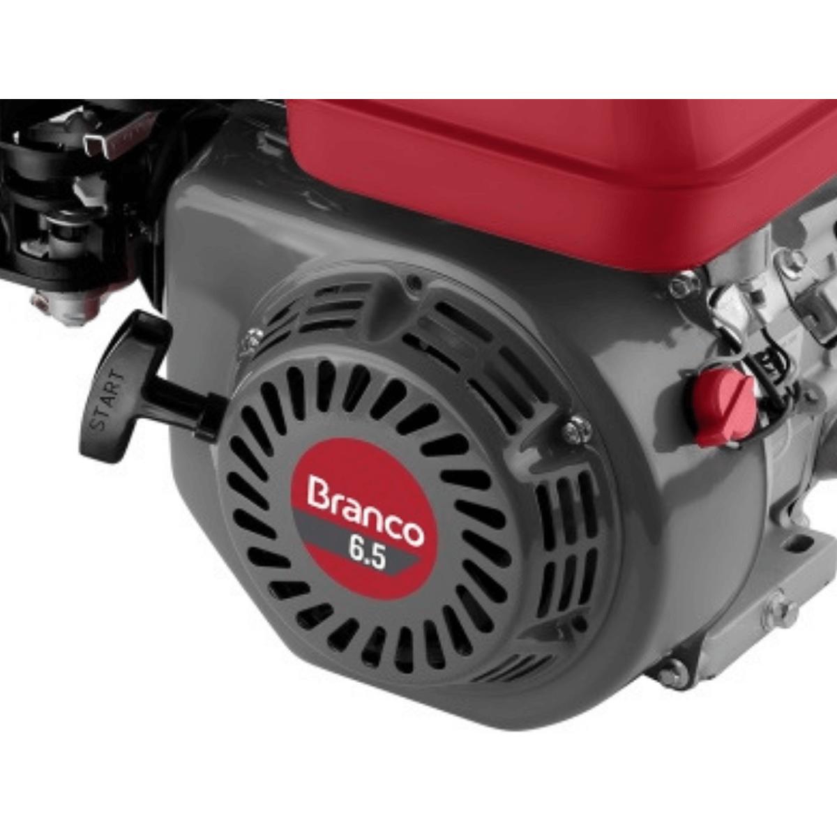 MOTOR 6,5HP B4T A GASOLINA BRANCO - 90500342
