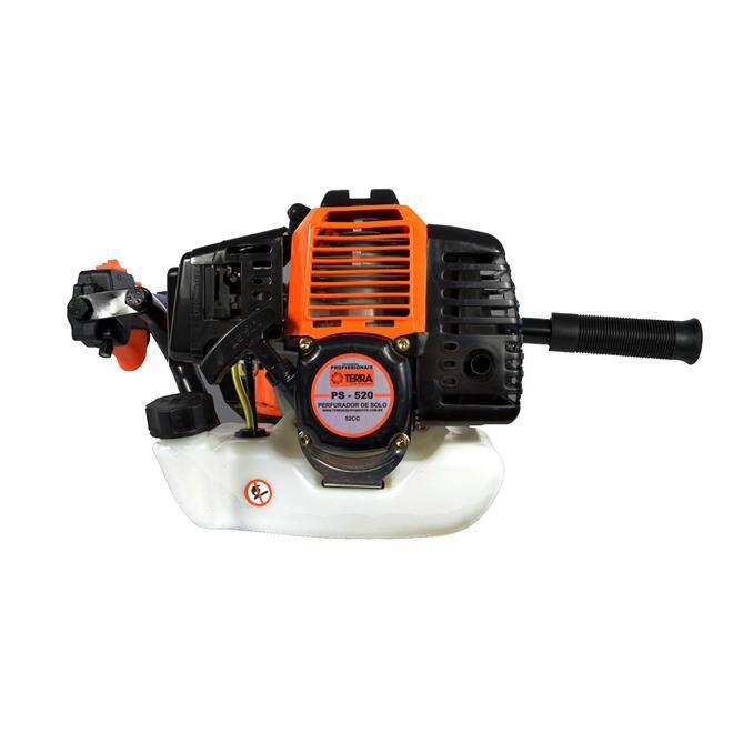 Perfurador de Solo a Gasolina 2,5HP/52CC 3 Brocas TERRA PS520