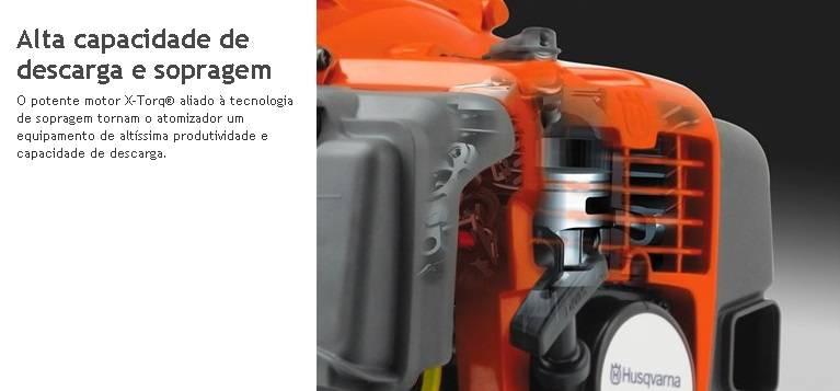Soprador Á Gasolina Husqvarna 570BTS 65,6cc 4,0hp