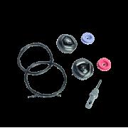 Acessório para Sapatilha Fizik - Kit BOA IP1 Dialb Preto
