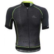Camisa de ciclismo Mauro Ribeiro Masculino Optic+ Cinza