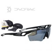 Oculos Dvorak One Preto Fosco C/3 Lentes