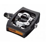 Pedal Clip Shimano Pd T400 Click'r Plataforma Preto C/ Tacos