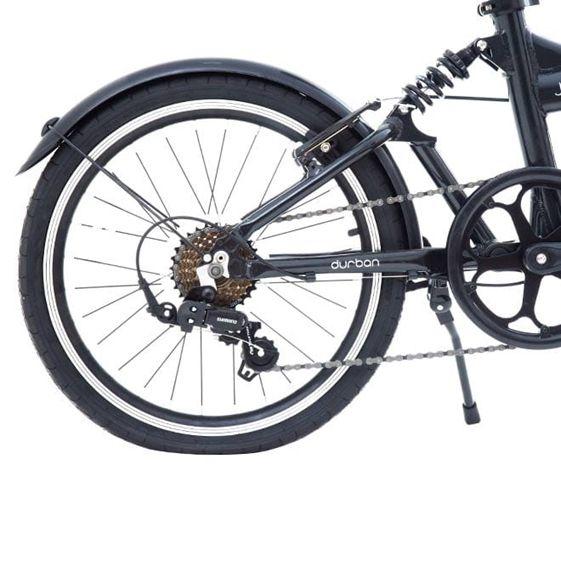 Bicicleta dobrável Durban Jump