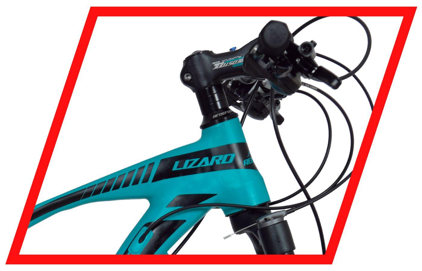 Bicicleta Mountain Bike Redstone Lizard 2 x 9