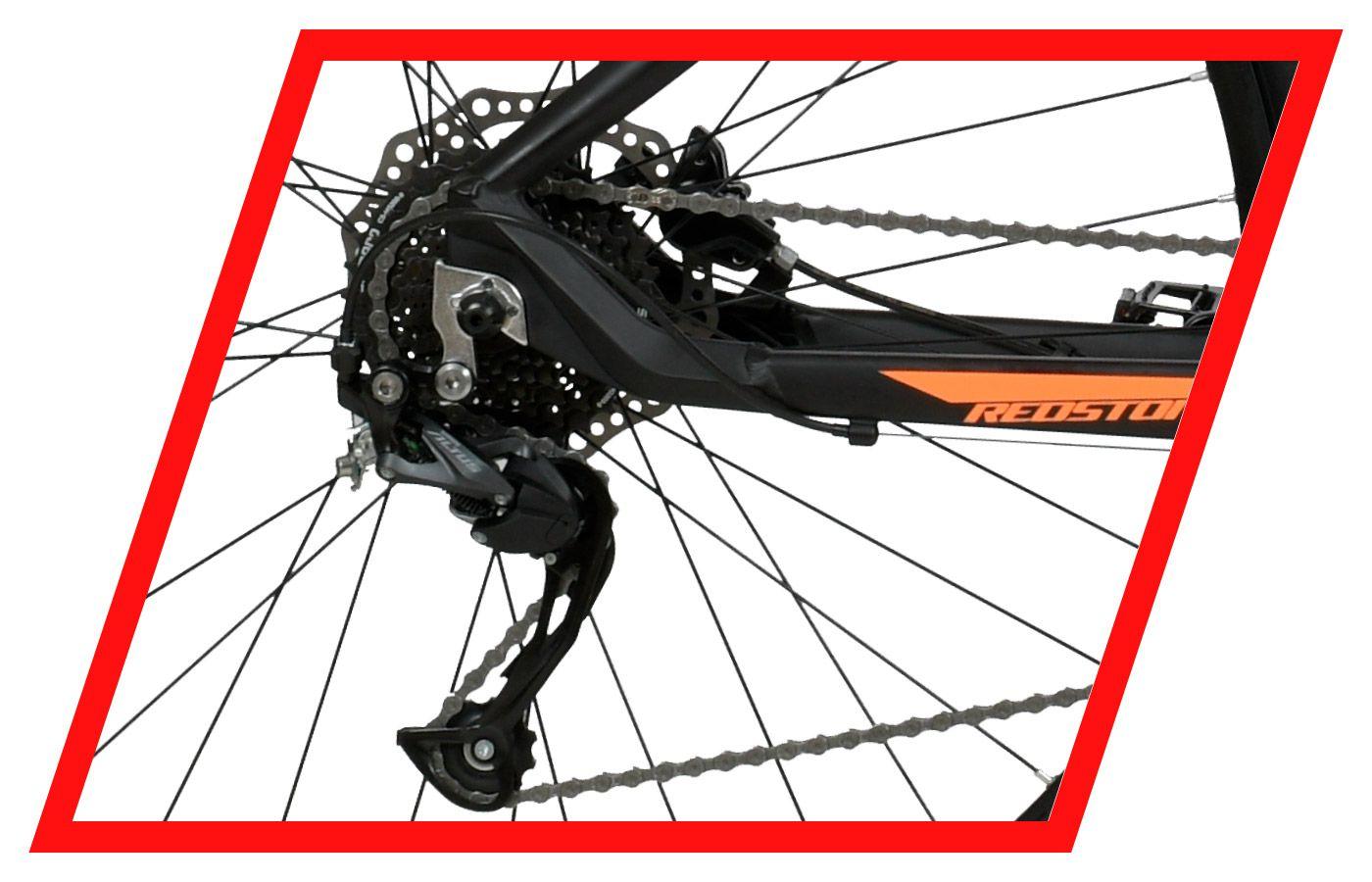 Bicicleta Mountain Bike Redstone Macropus