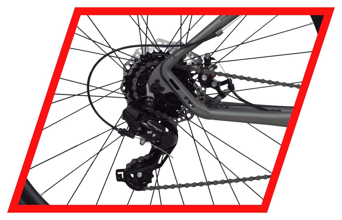 Bicicleta Urbana Redstone Urban