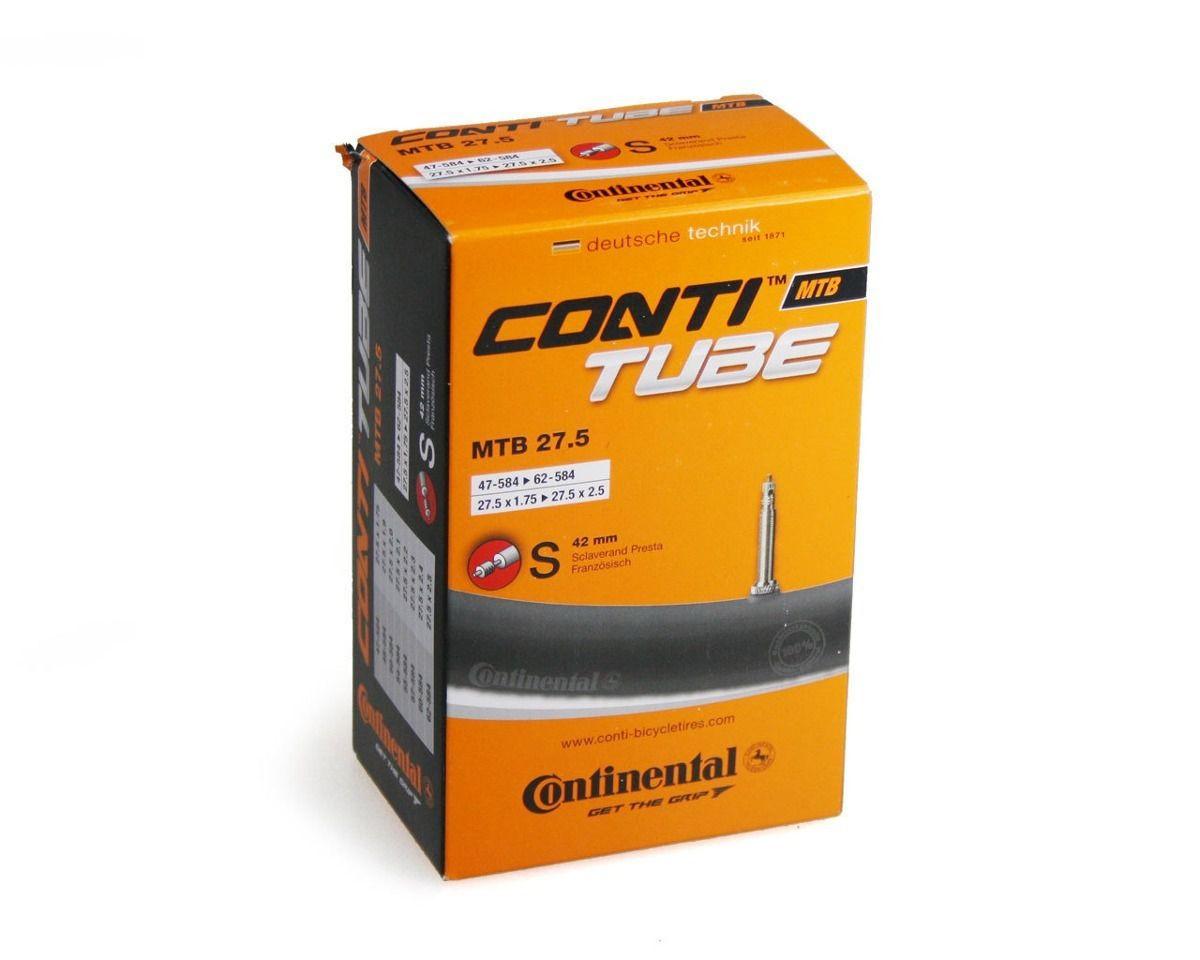 Câmara Continental MTB 27.5x2.25 42mm Presta