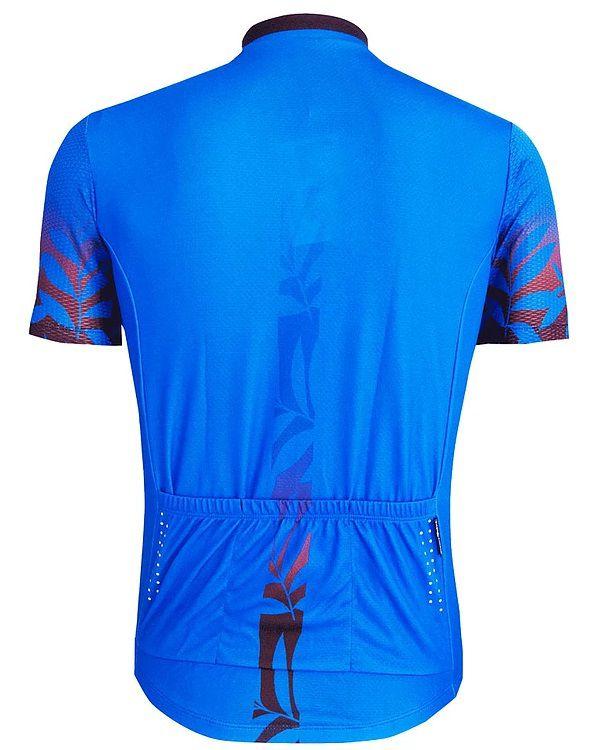 Camisa de ciclismo Mauro Ribeiro Masculino Trial Azul