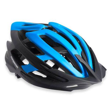 Capacete Ciclismo Arbok Escalera Preto/Azul Fosco TAM. 58-62