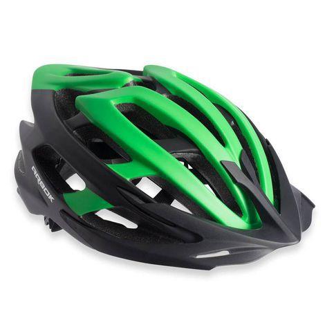 Capacete Ciclismo Arbok Escalera Preto/Verde Fosco TAM. 58-62