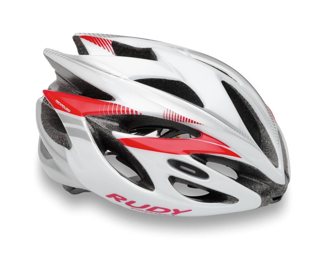 Capacete RudyProject Rush White/Red