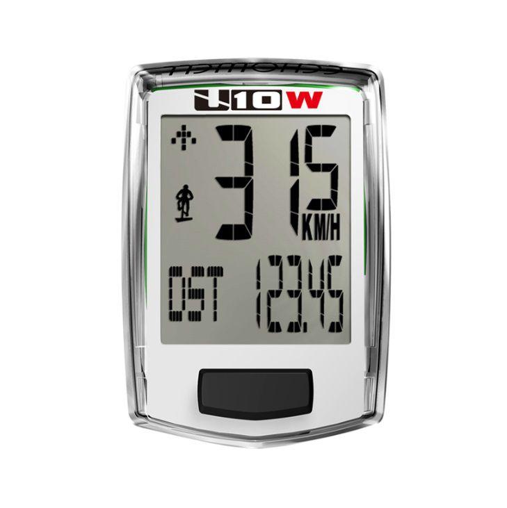 Ciclocomputador Bike Echowell U10w Branco Sem Fio (wireless)