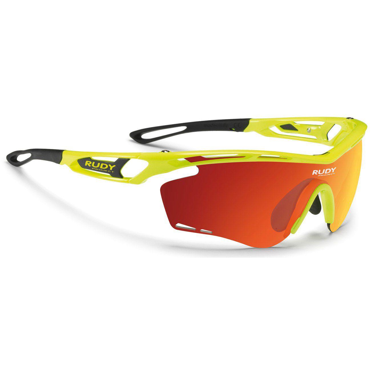 Óculos Rudy Project Tralyx  Amarelo Fluor