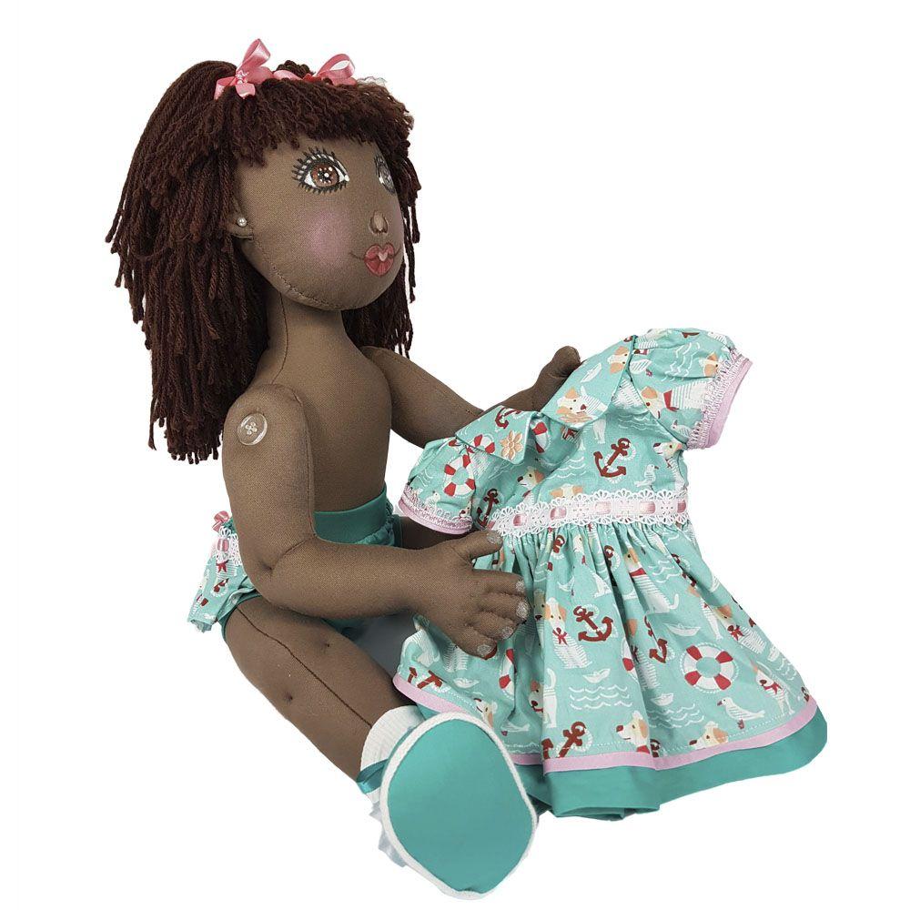 Boneca Artesanal Cora