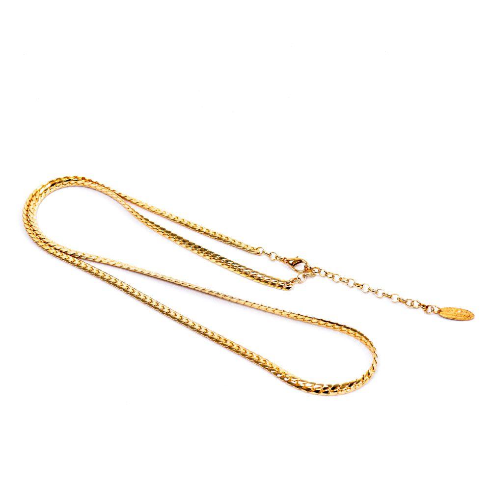 Colar Banho Ouro - 95cm