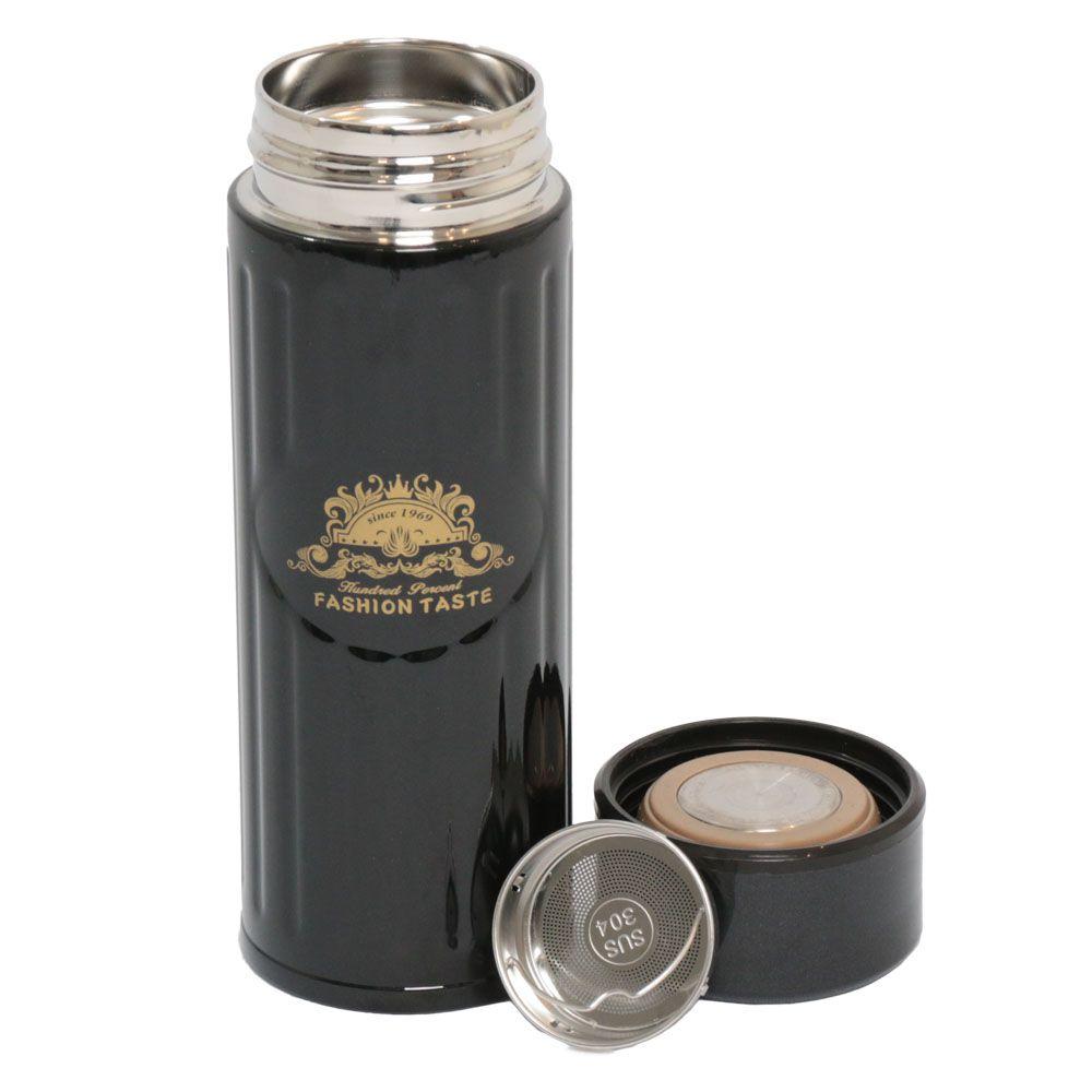 Garrafa Térmica 350ML com Difusor para Chá