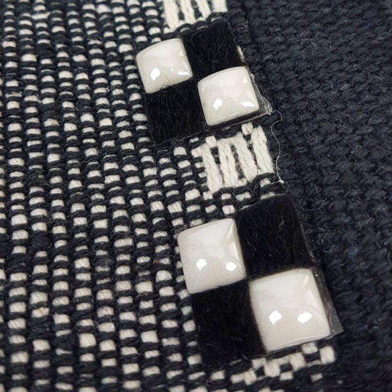 Jogo Americano Pedrinhas Brancas - 2 peças