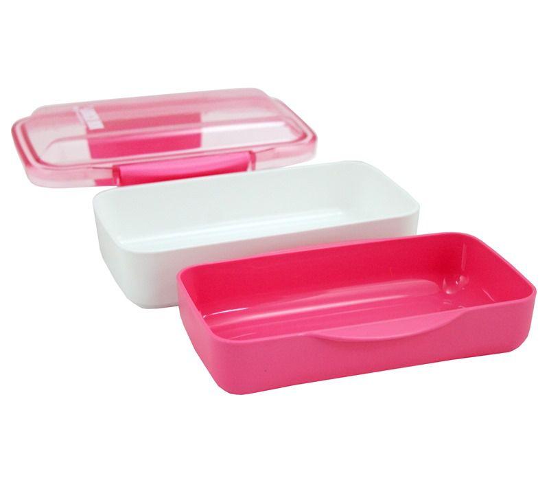 Kit Bolsa Térmica e Pote Marmita com 2 Compartimentos