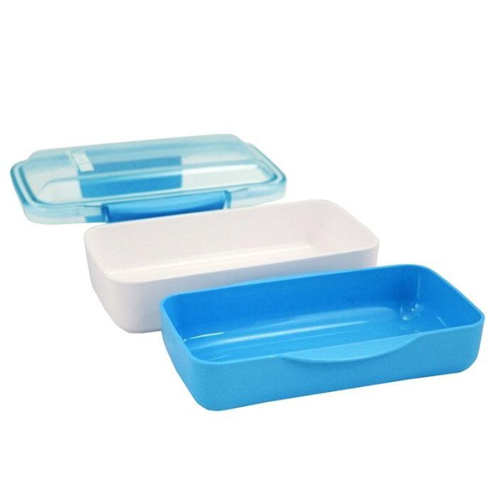 Kit Fitness Bolsa Térmica e Pote Marmita com 2 Compartimentos