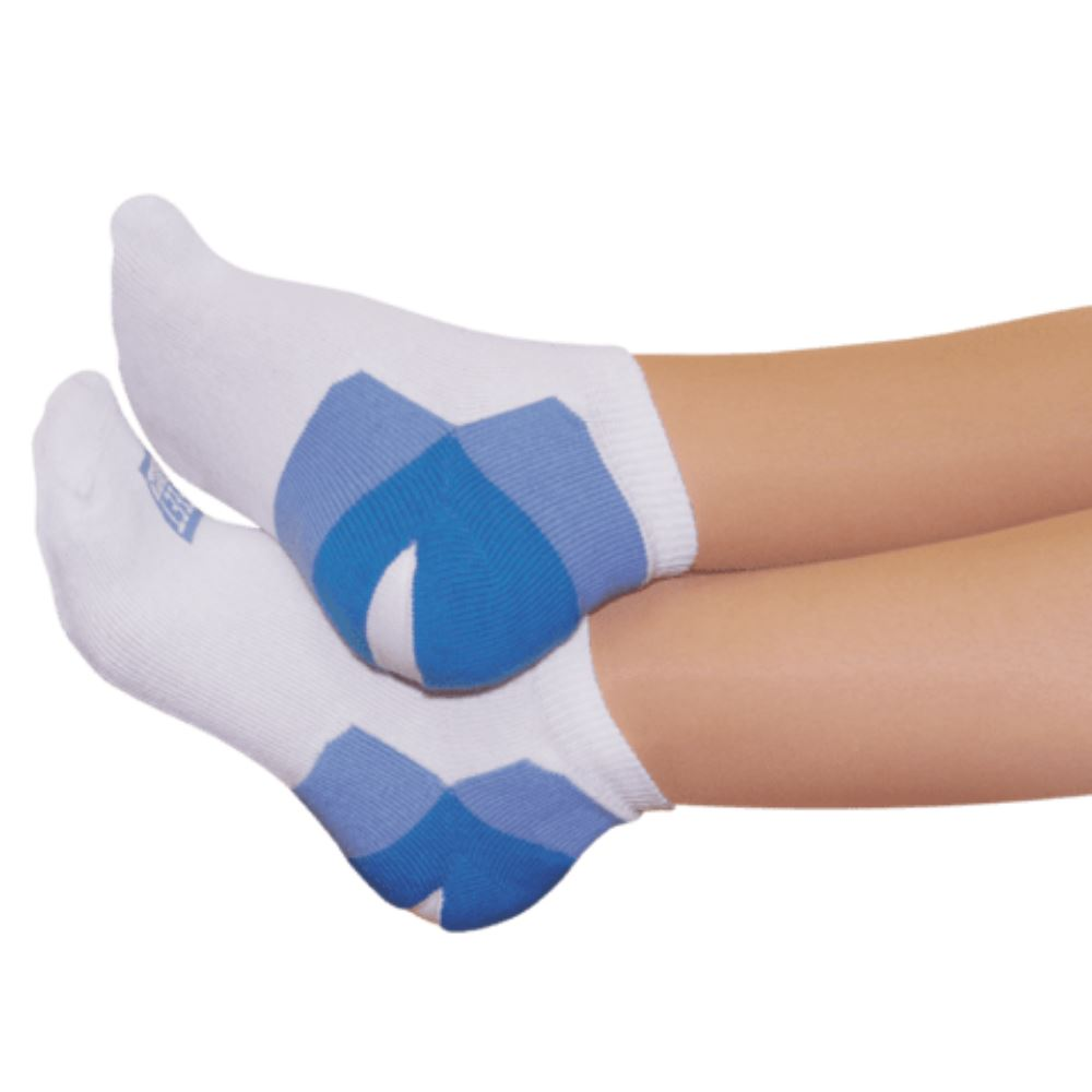 Kit Sapatilha Talon Branco com Azul 2 pares