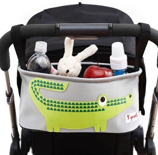 Porta Objetos Linha Zoo para Carrinho de Bebê