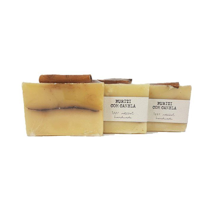 Sabonete Barra Buriti com Canela