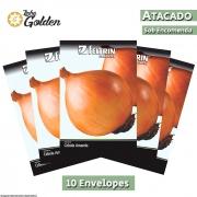 10 Envelopes - Sementes de Cebola Baia Herval - Atacado - Feltrin - Linha Golden