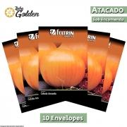 10 Envelopes - Sementes de Cebola Ipa 11- Atacado - Feltrin - Linha Golden