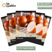 10 Envelopes - Sementes de Cebola Lola - Atacado - Feltrin - Linha Golden