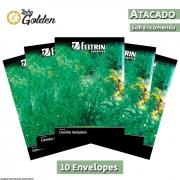 10 Envelopes - Sementes de Cominho Verdadeiro - Atacado - Feltrin - Linha Golden