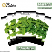 10 Envelopes - Sementes de Ervilha Catarina - Atacado - Feltrin - Linha Golden