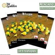 10 Envelopes - Sementes de Pimenta Guadalajara - Atacado - Feltrin - Linha Golden
