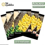 10 Envelopes - Sementes de Pimenta Luna - Atacado - Feltrin - Linha Golden